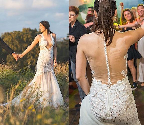 מאוד שמלות כלה יד שנייה - שמלות כלה אביזרים וטראש דה דרס - בוטיק לכלה PY-02