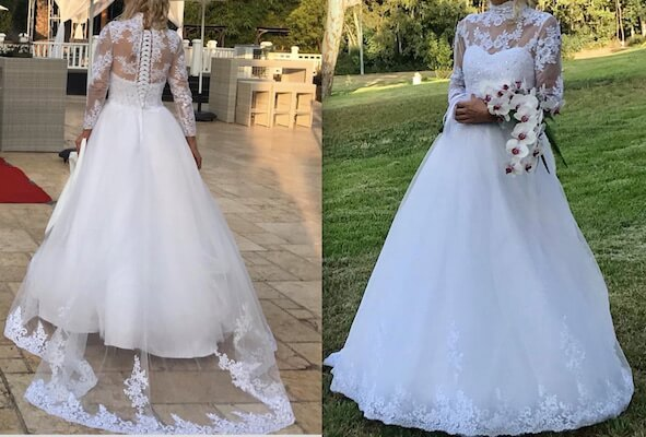 מעולה שמלות כלה יד שנייה - שמלות כלה אביזרים וטראש דה דרס - בוטיק לכלה ZO-48