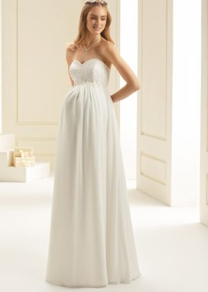 מאוד שמלות כלה בהריון - שמלות כלה אביזרים וטראש דה דרס - בוטיק לכלה SN-89