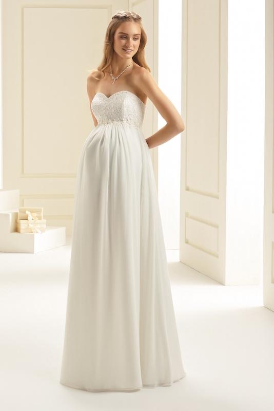 שמלת כלה בהריון דגם V1