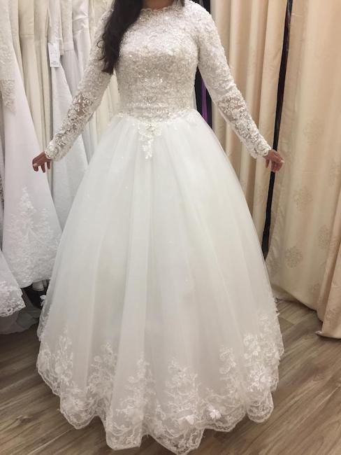שמלות כלה צנועות
