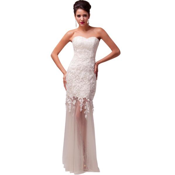 שמלות כלה סטרפלס