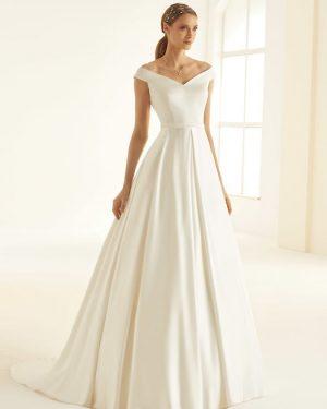 שמלות כלה ללא תחרה