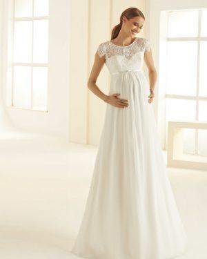 שמלת כלה בהריון