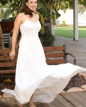 שמלת כלה פשוטה
