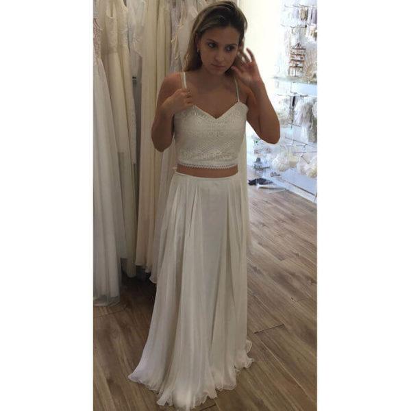 שמלה שני חלקים