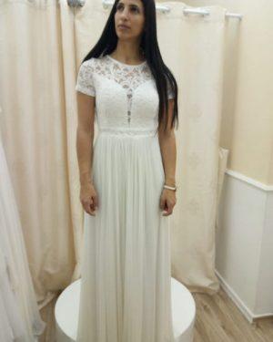 שמלה לבנה לטראש דה דרס