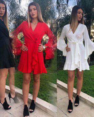 שמלה קצרה לטראש