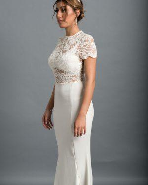שמלה לבנה