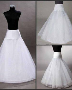 תחתית לשמלה ללא חישוקים