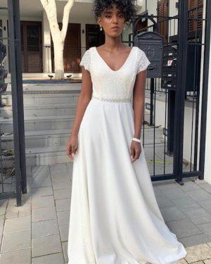 שמלות לבנות לצילומי טראש דה דרס