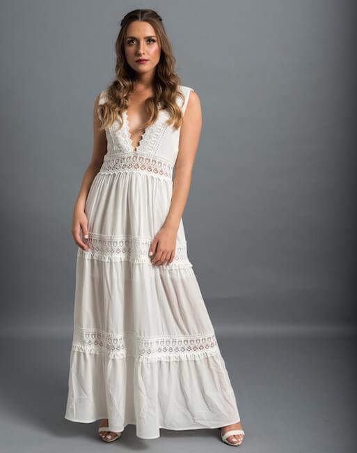 שמלה לטראש בוהו שיק