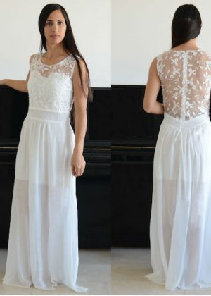 בלתי רגיל שמלות לטראש דה דרס Trash the dress בפחות מ 700 ש״ח - שמלות כלה ZY-15