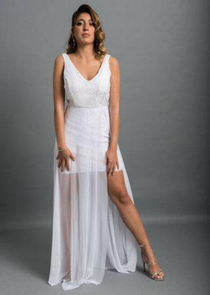 אולטרה מידי שמלות לטראש דה דרס Trash the dress בפחות מ 700 ש״ח - שמלות כלה QX-52