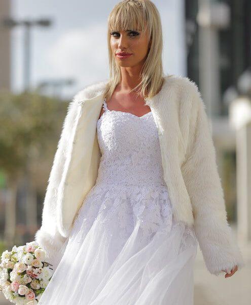 מעיל לבן