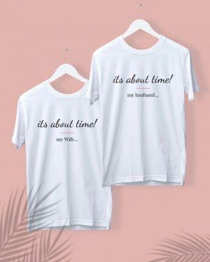 חולצות מודפסות לחתן ולכלה